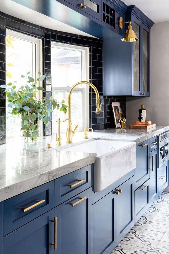 blue kitchen ideas 5