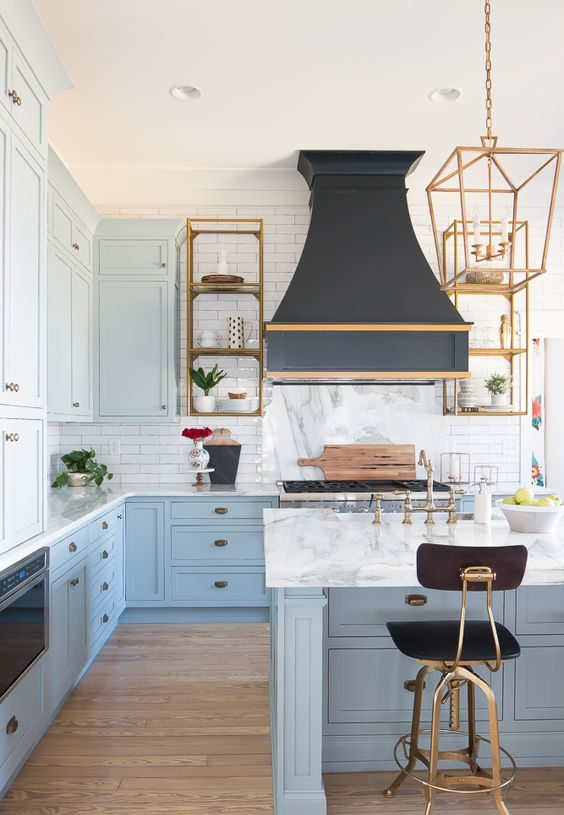 blue kitchen ideas 6