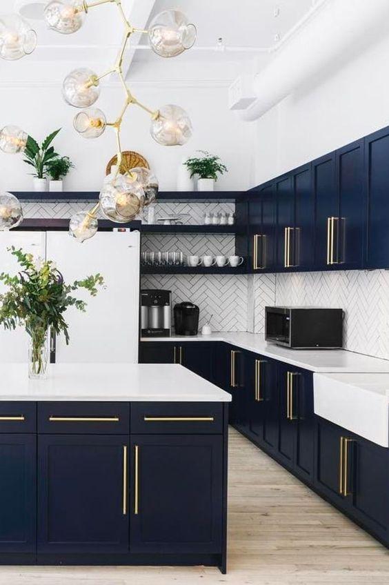 blue kitchen ideas 7