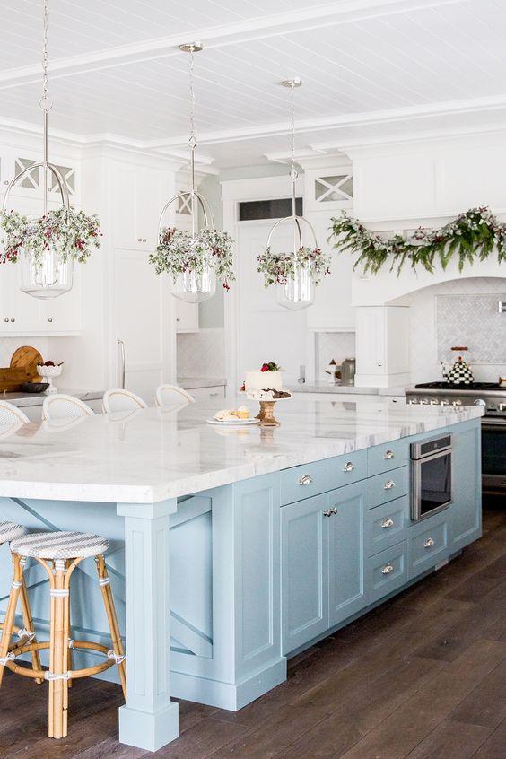 blue kitchen ideas 8