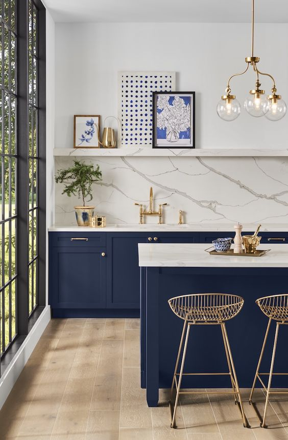 blue kitchen ideas 9