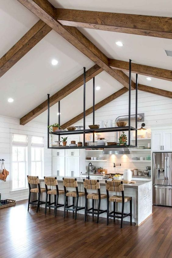 Kitchen Design Ideas: Beautiful Modern Farmhouse