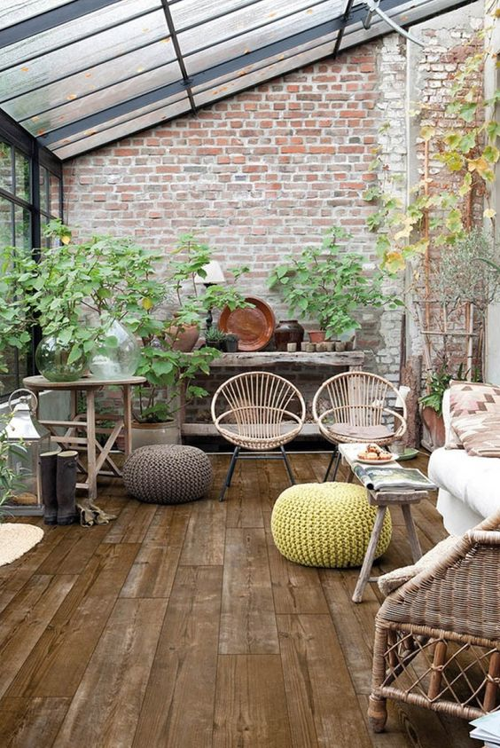 Patio On A Budget Ideas: Attractive Rustic Concept