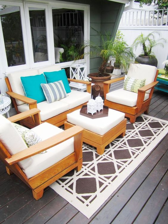 patio rug ideas 18