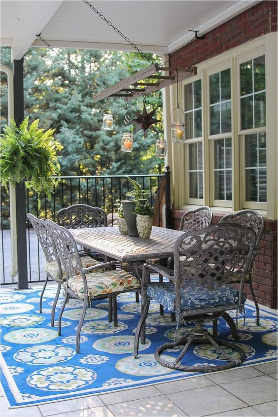 patio rug ideas 19
