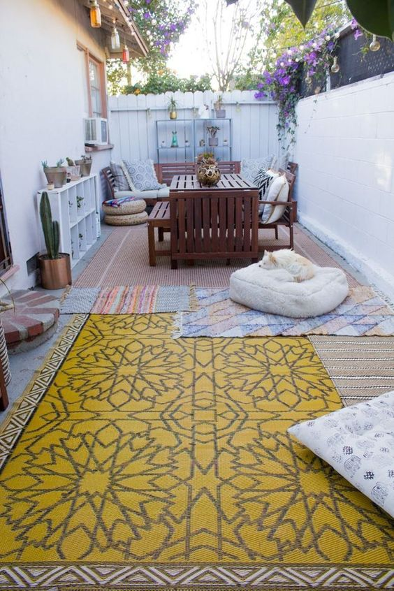 patio rug ideas 9