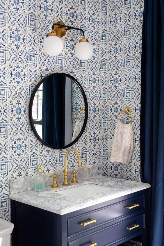 Bathroom Blue Ideas 16