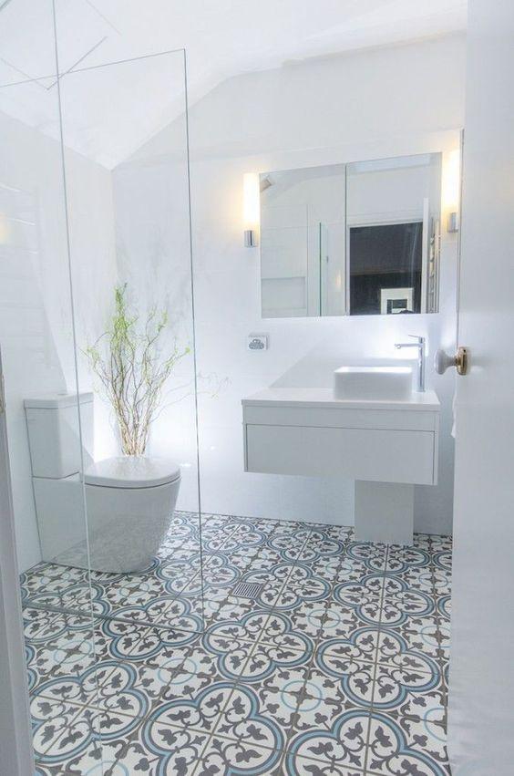 Bathroom Tile Ideas: Modern Vintage Look