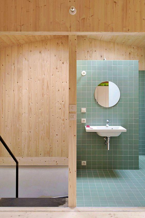 Bathroom Tile Ideas: Relaxing Earthy Feeling