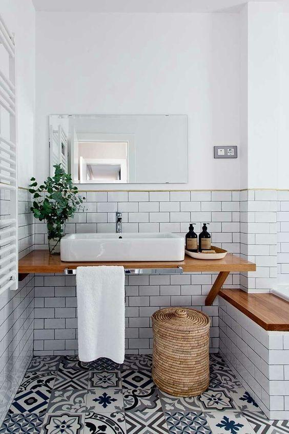 Bathroom Tile Ideas: Unique Eclectic Concept