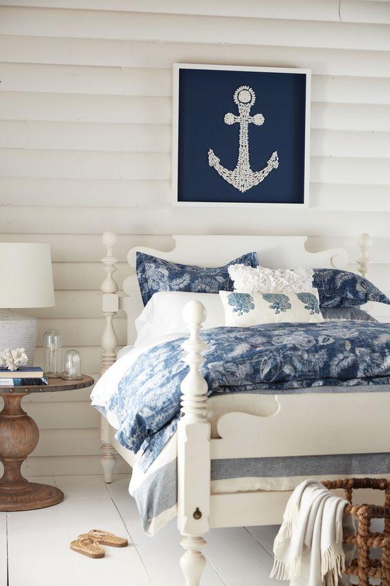 Beach Bedroom Ideas: Elegant Coastal Look