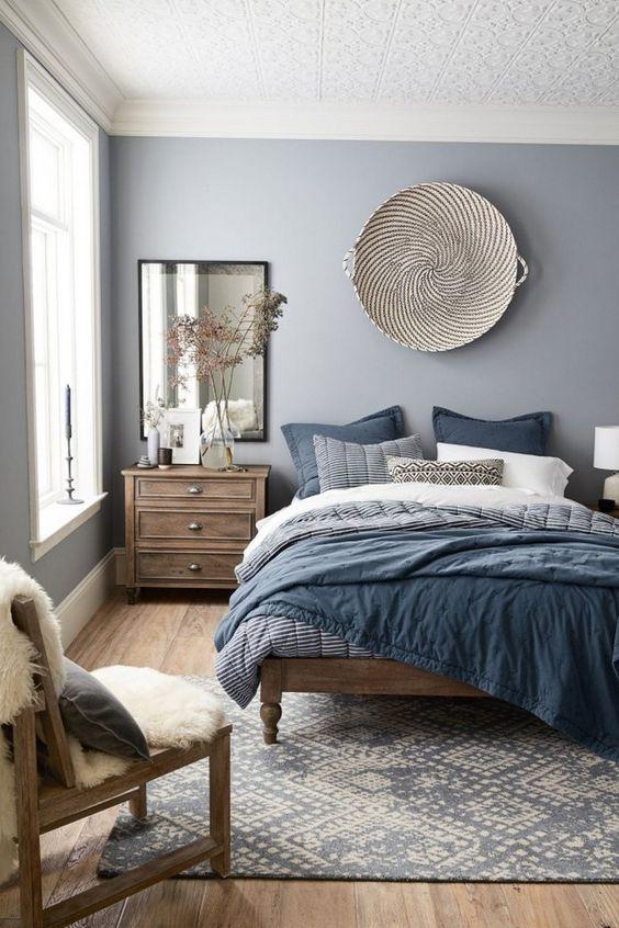 Beach Bedroom Ideas: Elegant Rustic Accent