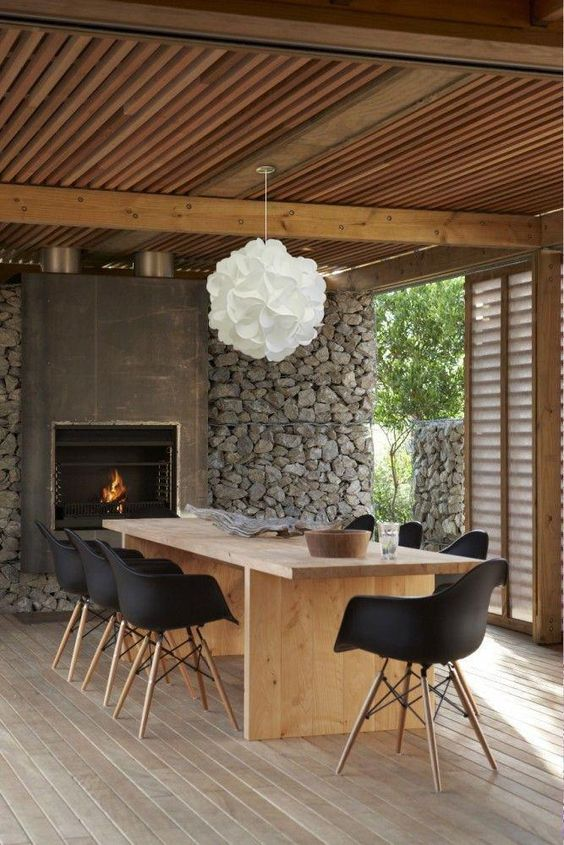 Covered Patio Ideas: Modern Contemporary Rustic