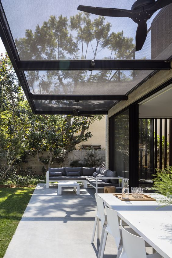 Covered Patio Ideas: Simple Patio Cover