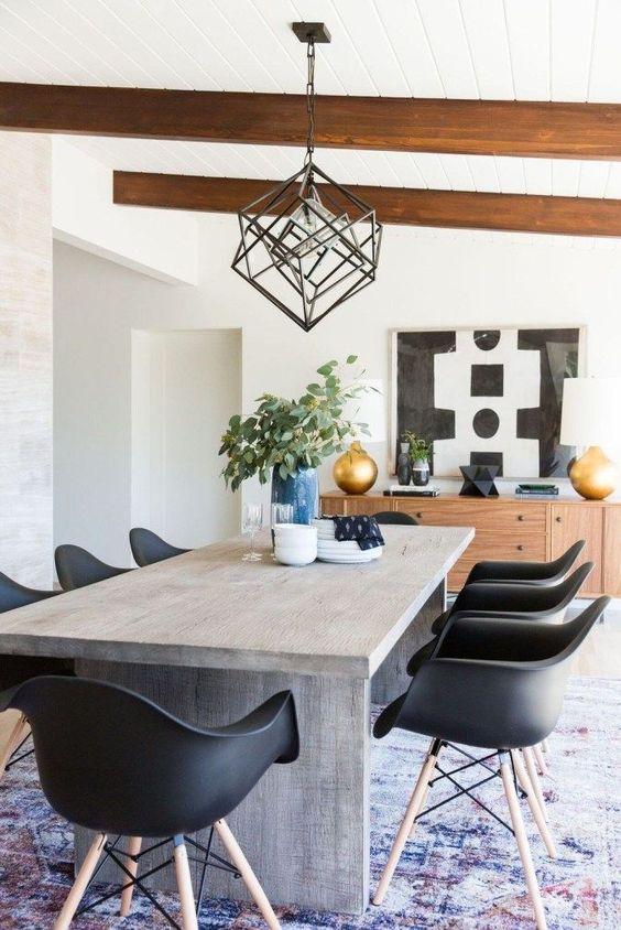 Dining Room Rug Ideas: Lovely Pattern Rug