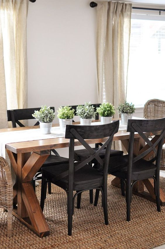 Dining Room Rug Ideas: Standout Earthy Rug