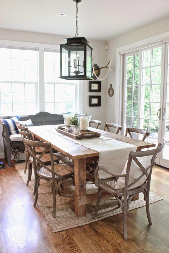 Dining Room Rug Ideas: Beautiful Neutral Aura