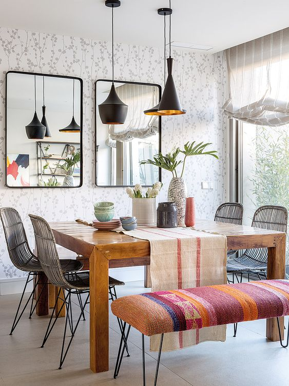 Eclectic Dining Room Ideas 11
