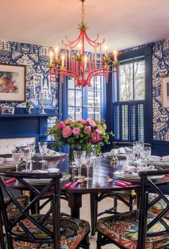 Eclectic Dining Room Ideas 17
