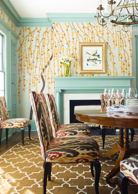 Eclectic Dining Room Ideas 18