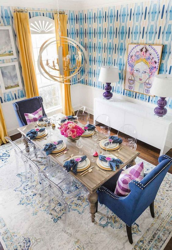 Eclectic Dining Room Ideas 19