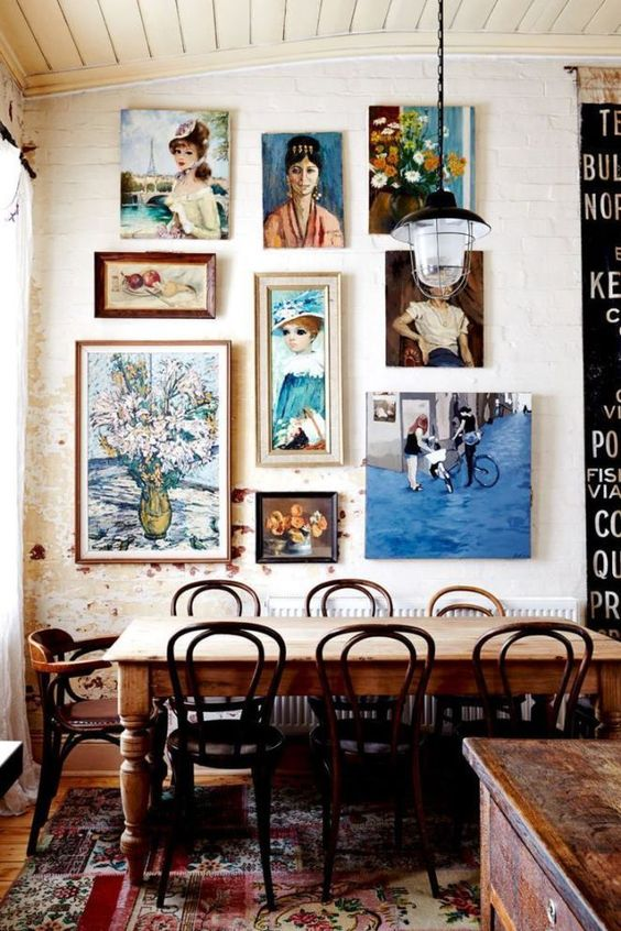 Eclectic Dining Room Ideas 20