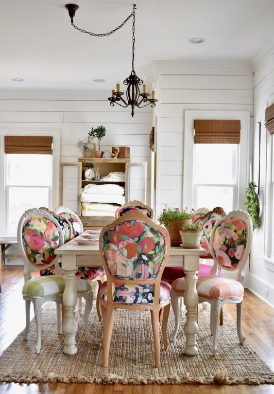 Eclectic Dining Room Ideas 6