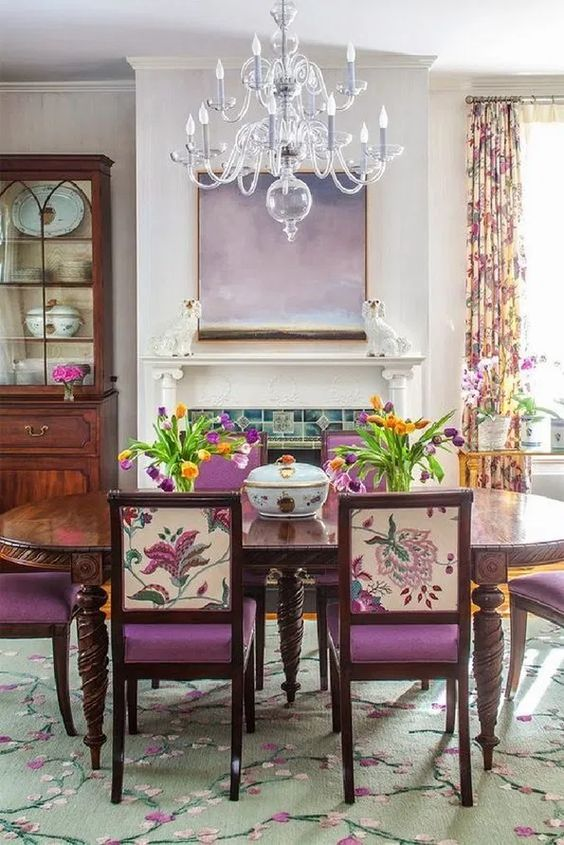 Eclectic Dining Room Ideas 8