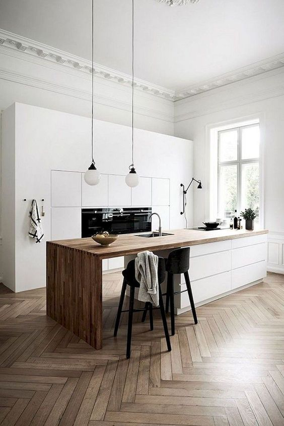 Kitchen Island Ideas: Modern Rustic Island