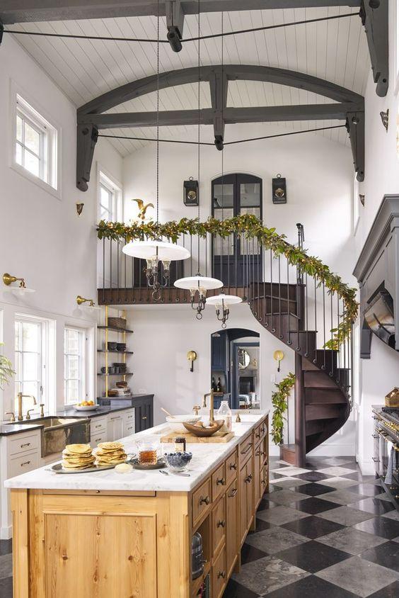 Kitchen Lighting Ideas: Modern Flush Mount