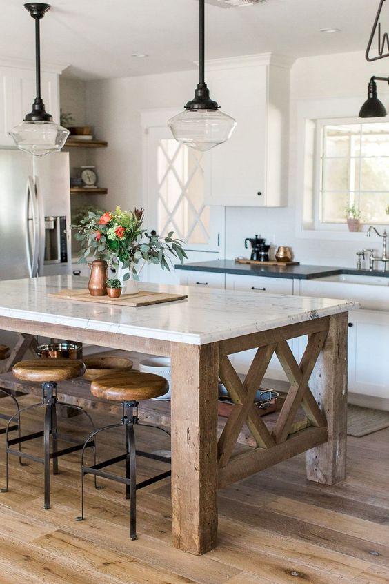 Kitchen Lighting Ideas: Chic Flush Mount