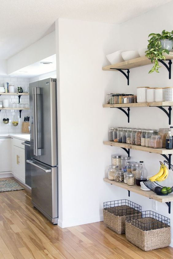 Kitchen Shelves Ideas: Wall of Fame