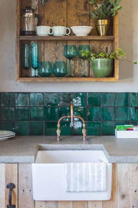 Kitchen Shelves Ideas 14