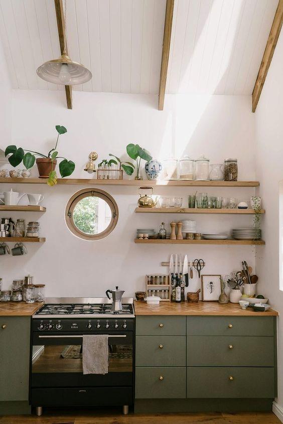 Kitchen Shelves Ideas 8