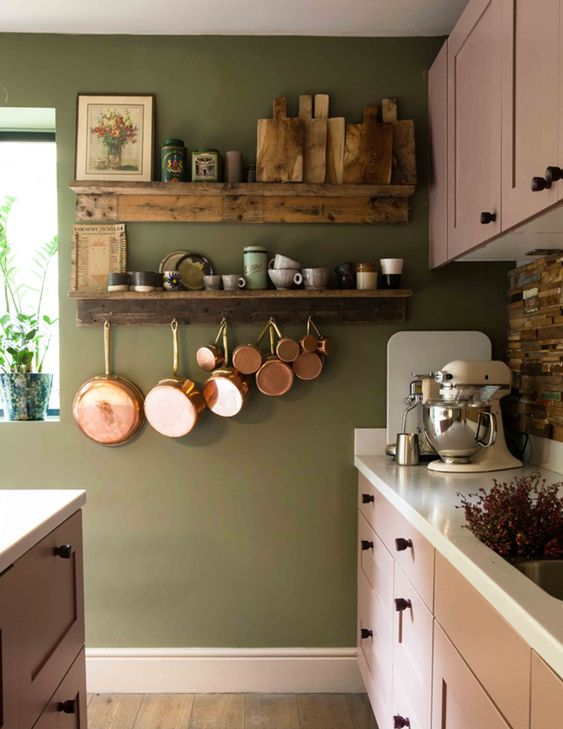 Kitchen Shelves Ideas 9