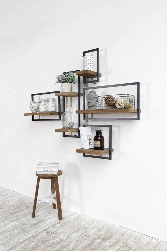 Living Room Shelves Ideas 6