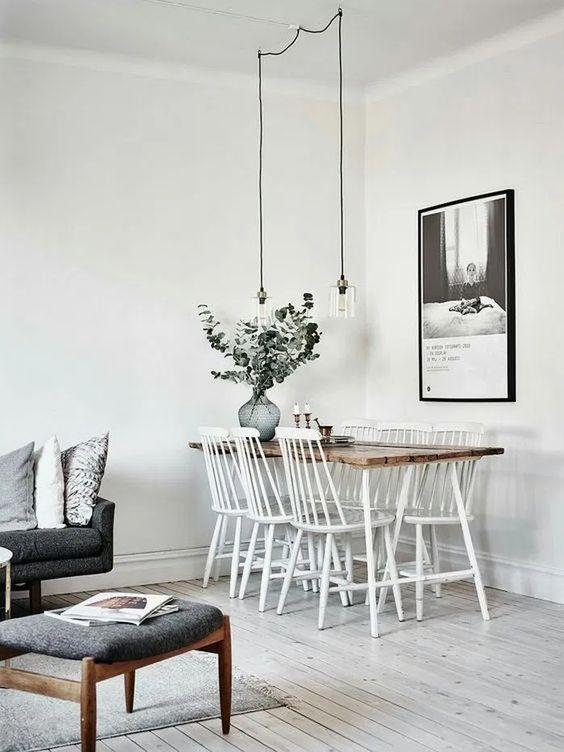 Minimalist Dining Room Ideas: Simple Dining Corner