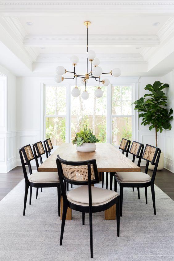 Minimalist Dining Room Ideas 10