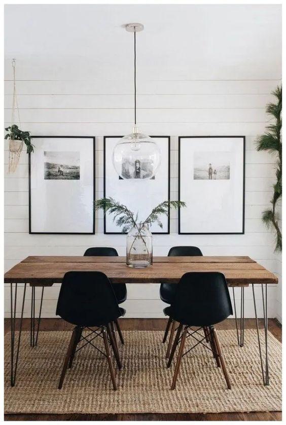 Minimalist Dining Room Ideas 14