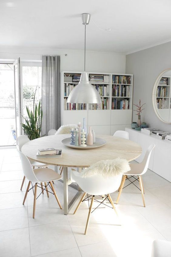 Minimalist Dining Room Ideas 17
