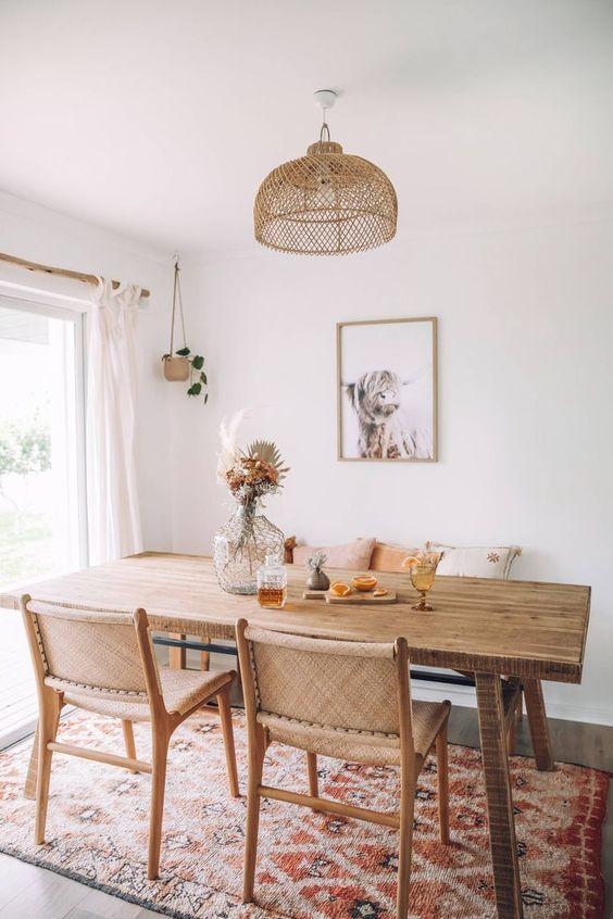 Minimalist Dining Room Ideas 18