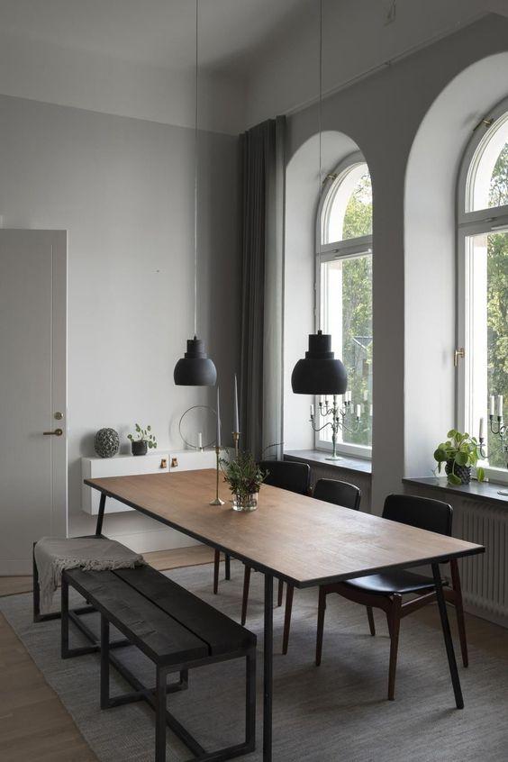 Minimalist Dining Room Ideas 6