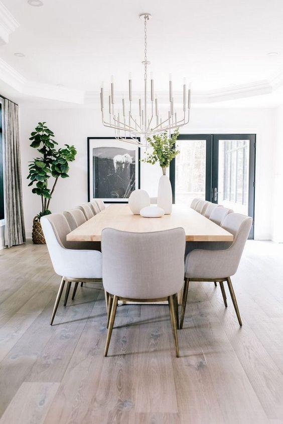 Minimalist Dining Room Ideas 7