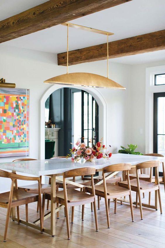 Minimalist Dining Room Ideas 9
