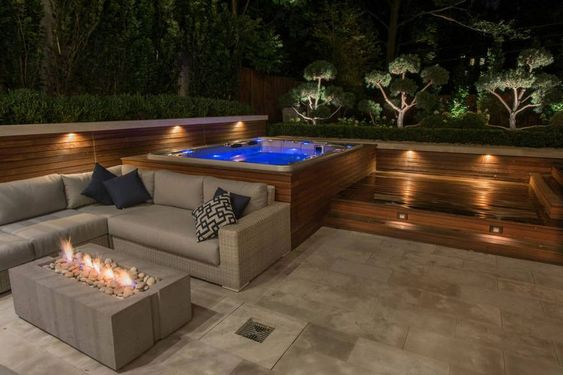 Romantic Hot Tub