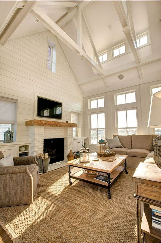 Rustic Living Room Ideas: Chic Modern Rustic