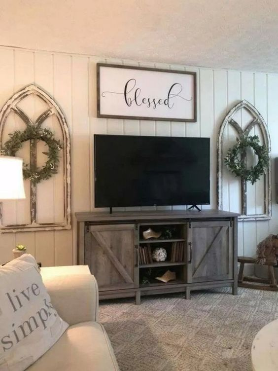 Rustic Living Room Ideas: Minimalist Rustic Style