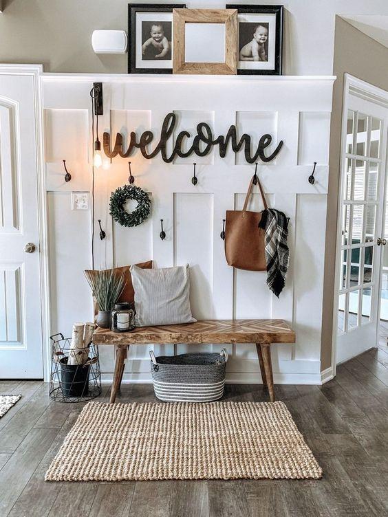Rustic Living Room Ideas: Neutral Rustic Look
