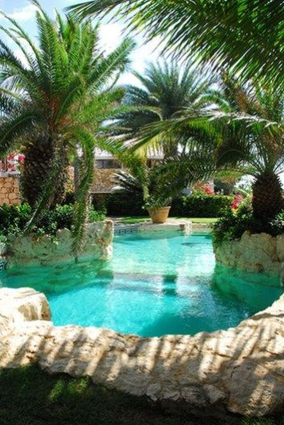Swimming Pool Garden Ideas 6