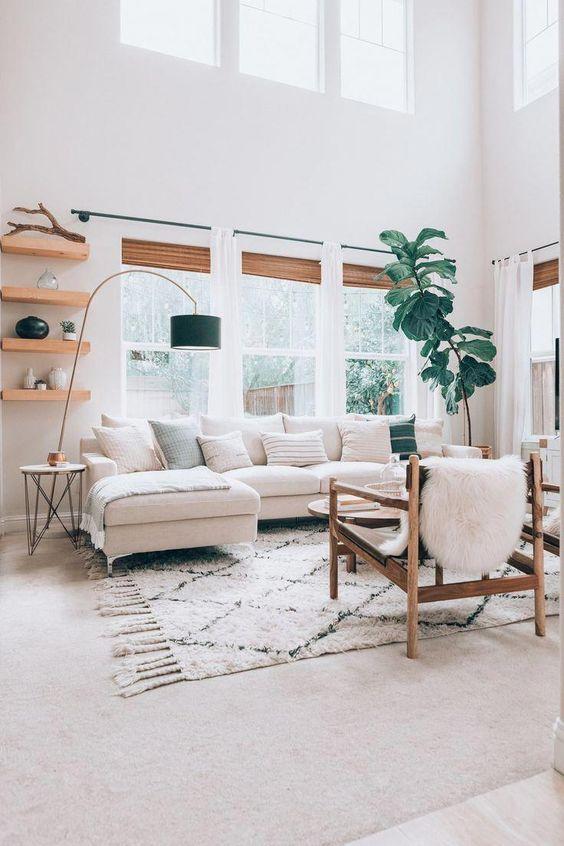 White Living Room Ideas 11